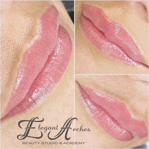 frozen lips